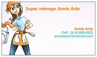 Super Ménage Annie Arès