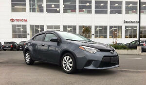 2014 Toyota Corolla LE -Local -No accidents - Toyota Certified
