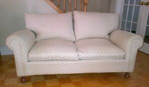 Sale Jacquard  2-Seater Cotton Couch