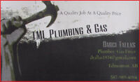 TML Plumbing & Gas Systems - Serving Edmonton & Area