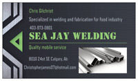 WELDING SERVICE ~ BIG OR SMALL