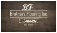 Hardwood flooring professional Installation.