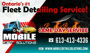 ***MOBILE FLEET DETAILING/METAL POLISHING SERVICES***