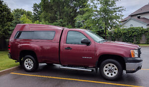 2013 GMC Sierra WT, Regular Cab with Extended GM Protection Plan