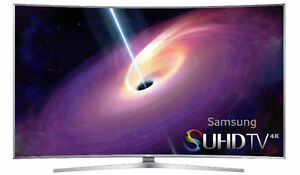 "Samsung 65"" Inch Curved 4K Ultra HD Smart LED TV UN65JS9000"