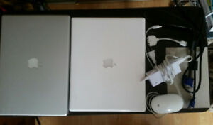 """Powerbook G4 15"""" & iBook G4 *as they are*  For Parts or Projects"""