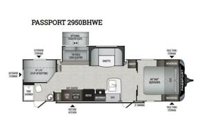 2019 Keystone RV Passport 2950BHWE