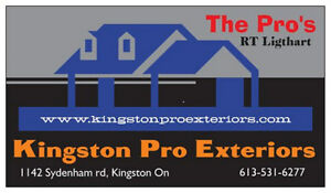 Siding Specialist *** Quality Work + Competitive Pricing *** Kingston Kingston Area image 1