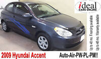 REDUCED PRICE!   2009 Hyundai Accent HB Sport Pkg --112000km--