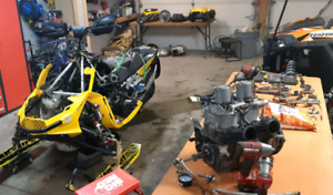 2012 xp skidoo xrs800 part out !