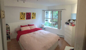 Spacious 1 Bedroom & Den Downtown New West - EXCELLENT LOCATION