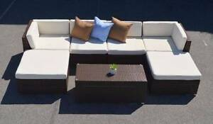 BARCELONA OUTDOOR SECTIONAL SOFA SET (WAS $2099) Hilton Fremantle Area Preview