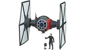 Tie Fighter / Force Link The Last Jedi + figurines 3.75'' -NEUF
