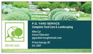 Complete Yard Care & Landscaping Prince George British Columbia image 1