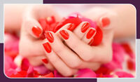 Manicures and Pedicures $38