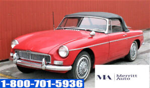 1966 MG MGB Convertible | SOLD AS IS | RUNS AND DRIVES |