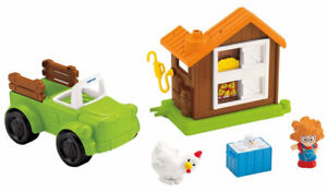 New! Little People Farm Truck & Coop / Neuf! Camion & Poulailler