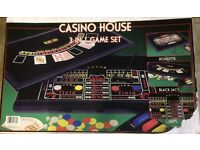 Games set - 3 in 1 casino games