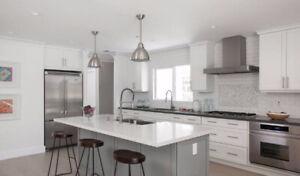 100% Maple Cabinet 50% OFF~Granite/Quartz Countertop From $45/SF