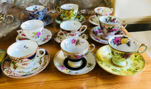 Tasses de collections // Collectors cups