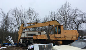 Wheeled Loader with Grapple Glomb on the front for sale