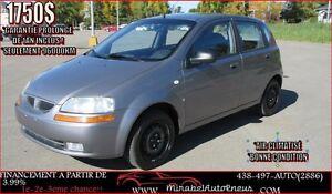 Pontiac Wave GARANTIE 1AN* 96000KM SEULEMENT 2007