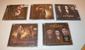 TWILIGHT SoundTrack ALL 5 CD's: Still Sealed in Cellophane: NEW