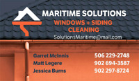 MARITIME SOLUTIONS WINDOW AND SIDING CLEANING