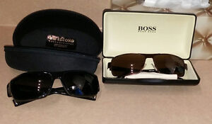 2 pairs of sunglasses (Nike & Hugo Boss) for $100 each