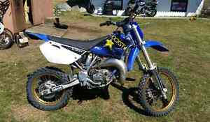 2006 yz 85  trade for outboard motor or boat and motor