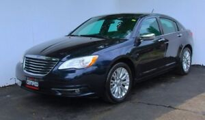 2012 Chrysler 200 Limited Leather Nav.Sunroof Remote start