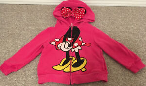 Toddler Minnie Mouse Hoodie sz XS (4/5)