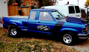 DRAG TRUCK FORD RANGER WITH OWNERSHIP