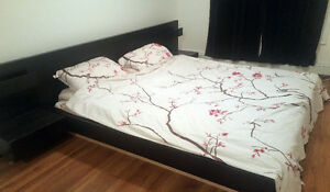 IKEA MALM King size bed (Low profile)
