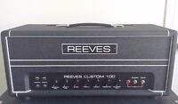 Reeves Custom 100 Amp Head (Hiwatt Replica)