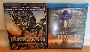 Transformers Blu-Rays - $5 Each/$7.50 for Two/OBO