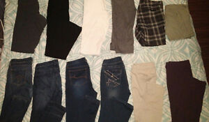 Pants, capris, shorts - ALL 13 for $40!