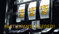 Gamblers & Smokers Wanted! $60 Compensation!