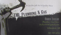 TML Plumbing & Gas Systems - Serving Edmonton and Area