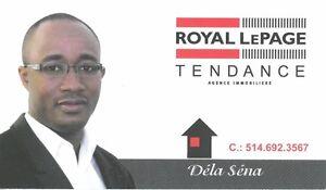 Services professionnels de vente et d'achat de maisons