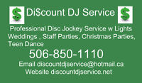 Discount DJ Service Wedding DJ Disc Jockey