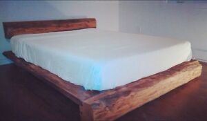 Table, Mur, lit, rustique/ wall, table, bed, rustic