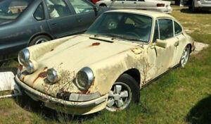 Researched and wanted Porsche 356'911'912 Project/shell/good