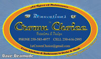 Crown Choice - the 1st choice for your satisfaction!