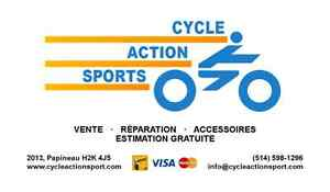 Cycle Action Sports: Vente et Réparation de bicyclettes