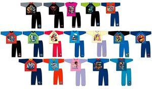 GIRLS-BOYS-KIDS-PJS-LONG-SLEEVED-PYJAMAS-TOP-PANTS-SET-CHILDRENS-SIZE-1-13-YEARS