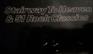 Music book Stairway to heaven & 51 Rob k Classics