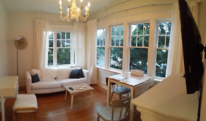 Fully Furnished Suite in Heritage House in Cadboro Bay Village