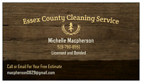 Essex County Cleaning Service