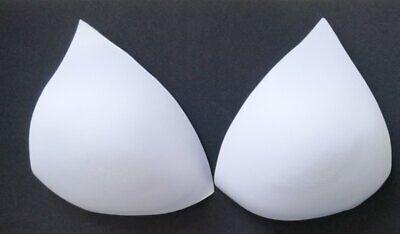BH Einlagen ca. spitz hoch ca 19x17x15cm Sexy Push up Kissen Bikini Badeanzug